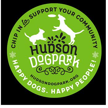 Support Hudson Dog Park Decal